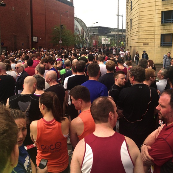 Start of the Bristol 10K